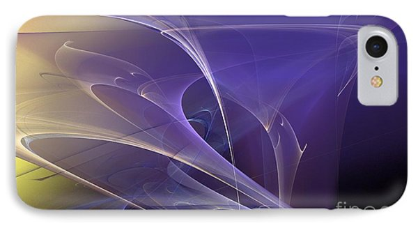 Purple Haze Phone Case by Sandra Bauser Digital Art