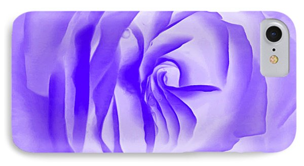 Purple Promises IPhone Case by Krissy Katsimbras