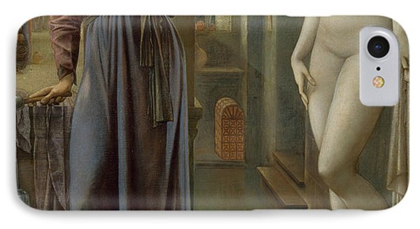 Pygmalion And The Image The Hand Refrains IPhone Case by Edward Burne-Jones