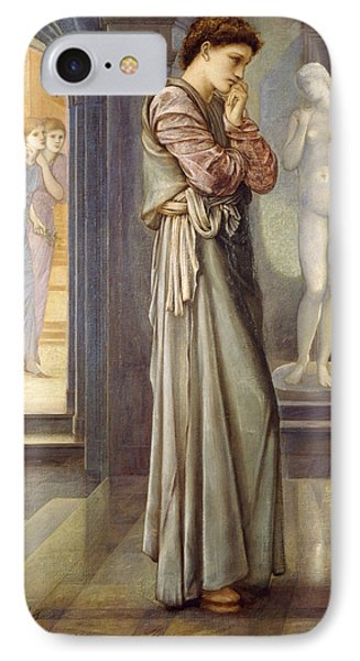 Pygmalion And The Image The Heart Desires IPhone Case by Edward Burne-Jones