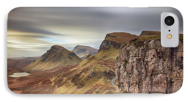 IPhone Case featuring the photograph Quiraing - Isle Of Skye by Grant Glendinning