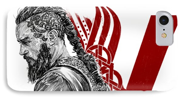 Ragnar IPhone Case by Roman V