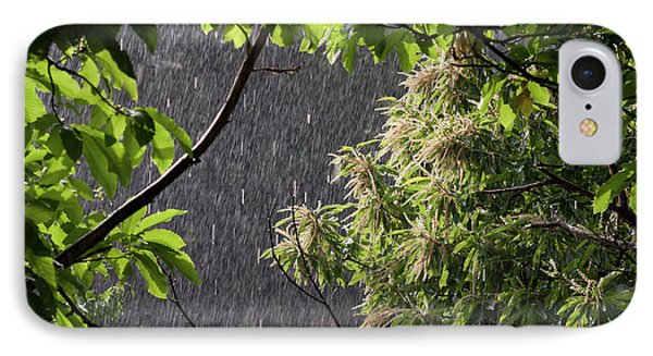 IPhone Case featuring the photograph Rain by Bruno Spagnolo