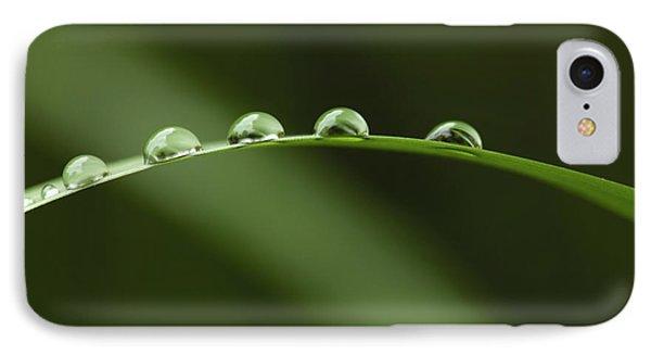 Raindrops Phone Case by Silke Magino