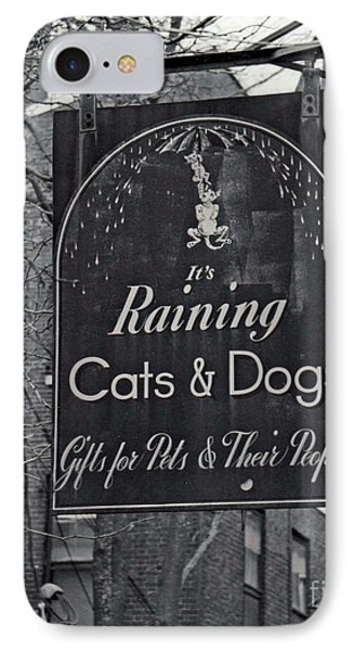 IPhone Case featuring the photograph Raining Cats And Dogs by Juls Adams