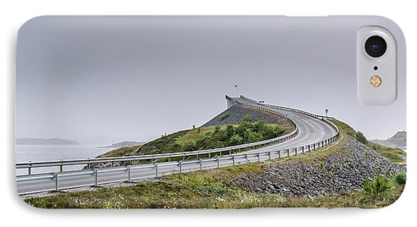 IPhone Case featuring the photograph Rainy Day On Atlantic Road by Dmytro Korol