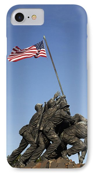 Raising The Flag On Iwo - 799 IPhone Case by Paul W Faust -  Impressions of Light