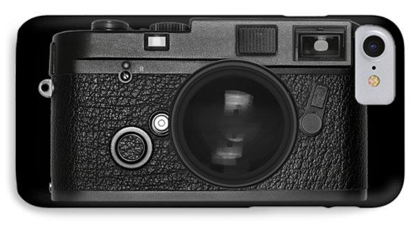 Rangefinder Camera IPhone Case by Setsiri Silapasuwanchai