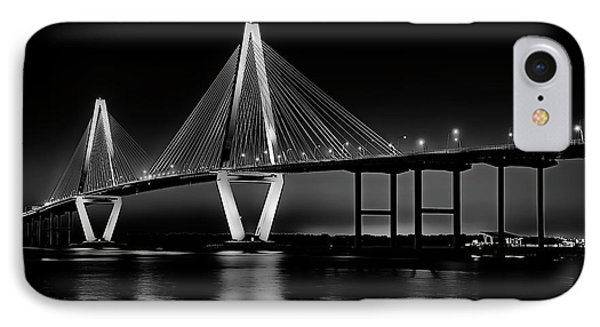 IPhone Case featuring the photograph Ravenel Bridge by Bill Barber