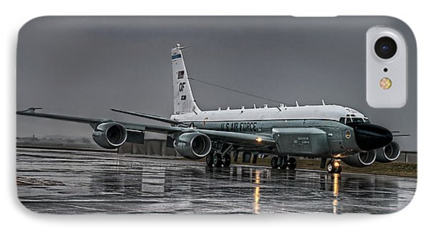 Rc-135 Rivet Joint IPhone Case by Ryan Wyckoff