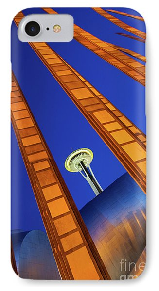 Reach For The Sky IPhone Case by Inge Johnsson