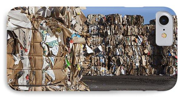 Recycling Facility Phone Case by Paul Edmondson