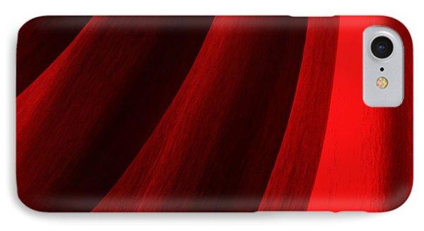 Red Chrysanthemum Dawn Rising IPhone Case