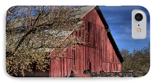 IPhone Case featuring the photograph Red Barn by Jim and Emily Bush