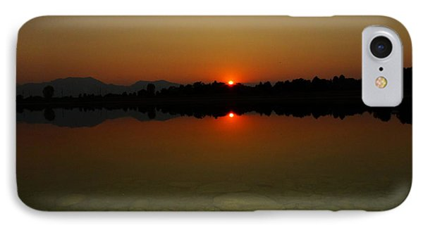 IPhone Case featuring the photograph Red Dawn by Eric Dee