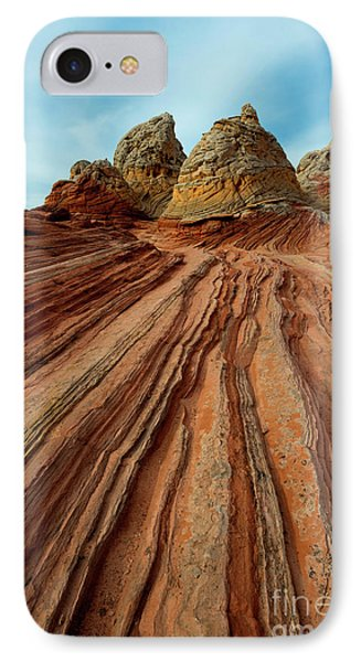 IPhone Case featuring the photograph Red Desert Lines by Mike Dawson