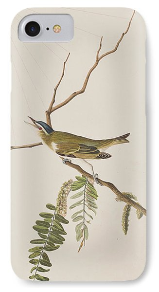 Red Eyed Vireo IPhone 7 Case by John James Audubon