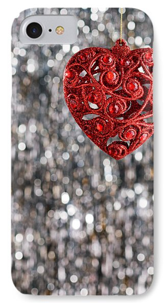 IPhone Case featuring the photograph Red Heart by Ulrich Schade