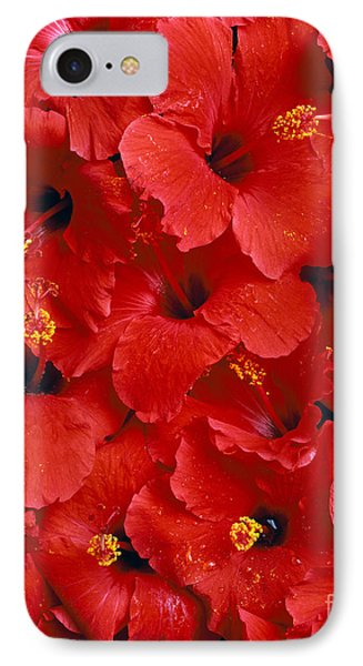Red Hibiscus Phone Case by Tomas del Amo - Printscapes