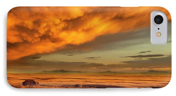 Red Rock Coulee Sunset 1 IPhone 7 Case