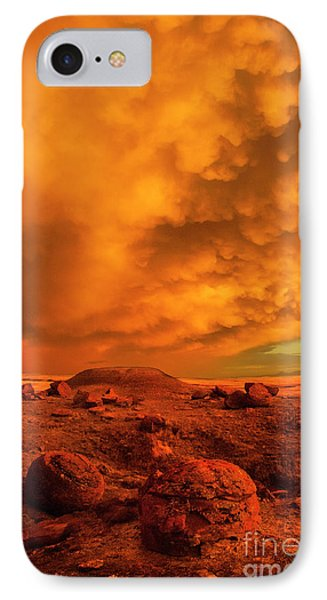 Red Rock Coulee Sunset 2 IPhone 7 Case