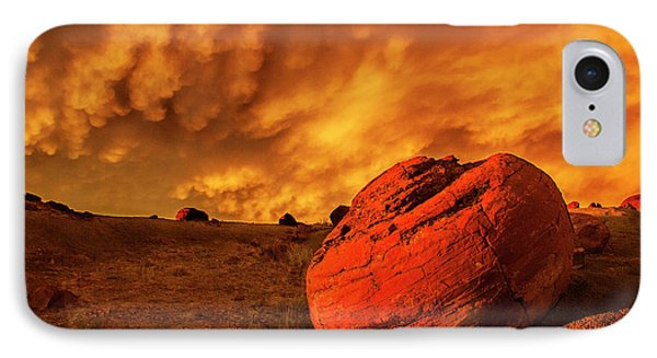 Red Rock Coulee Sunset 3 IPhone 7 Case