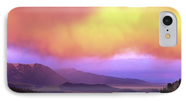 Red Rock Pass IPhone Case by Leland D Howard