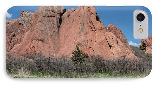 Red Rocks IPhone Case by Juli Scalzi