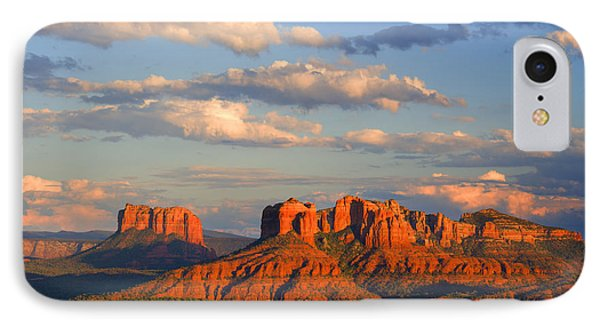Red Rocks Sunset IPhone Case by Alexey Stiop