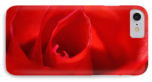 Red Rose Phone Case by Svetlana Sewell