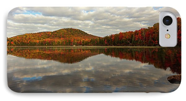 IPhone Case featuring the photograph Autumn Reflections by Mike Lang