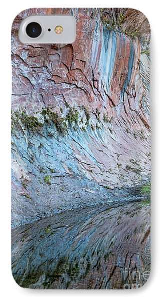 Reflections In Oak Creek Canyon IPhone Case by Sandra Bronstein