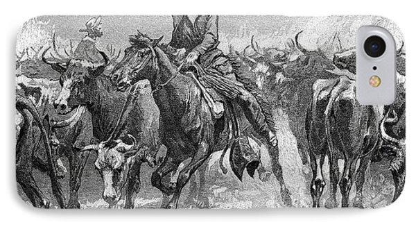 Remington: Cowboys, 1888 Phone Case by Granger