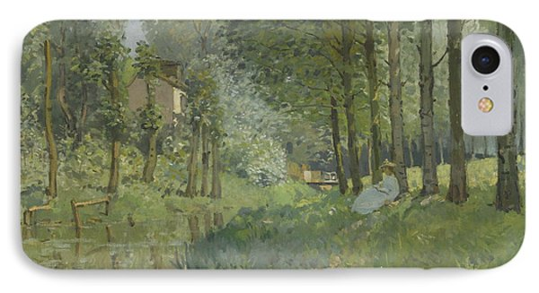 Rest Along The Stream  Phone Case by Alfred Sisley