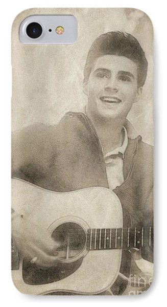 Ricky Nelson, Music Legend By John Springfield IPhone Case by John Springfield
