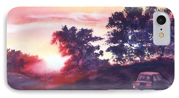 Road To Fargo IPhone Case by Marilyn Jacobson