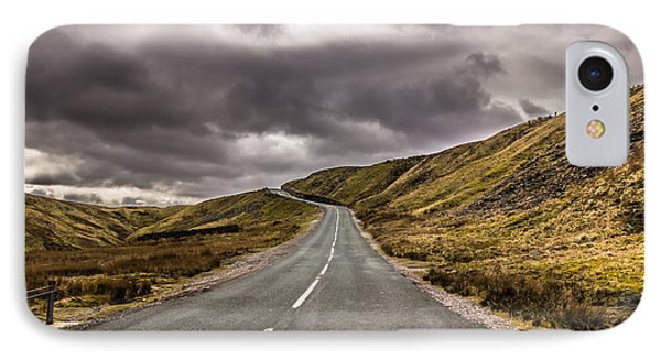 Road To Nowhere IPhone Case by David Warrington