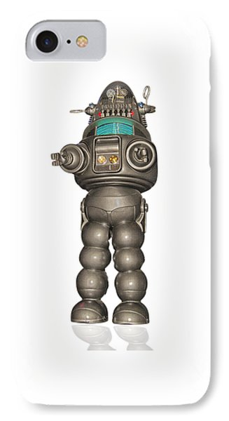 Robby The Robot IPhone Case by Gary Warnimont
