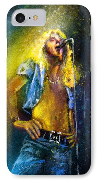 Robert Plant 01 IPhone Case by Miki De Goodaboom