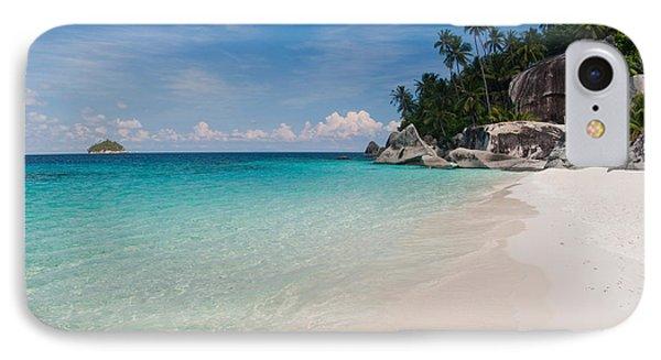 Rocks On The Beach, Pulau Dayang Beach IPhone Case