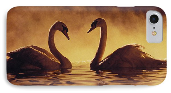 Romantic African Swans IPhone Case by Brent Black - Printscapes