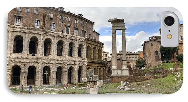 Rome - Theatre Of Marcellus Phone Case by Joana Kruse
