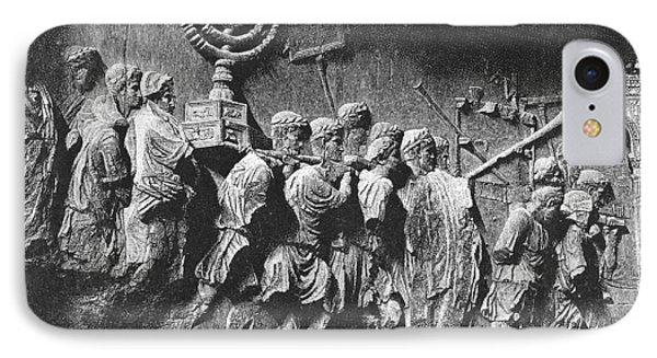 Rome: Arch Of Titus IPhone Case