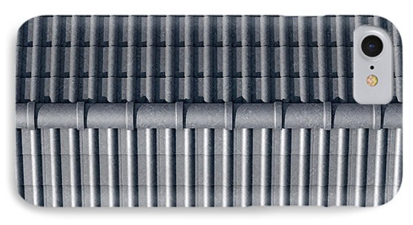 Roof Tiles Design Top IPhone Case by Allan Swart