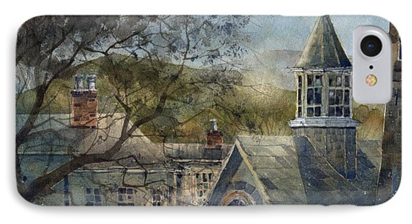 Rooftops Of Old Edwards IPhone Case by Tim Oliver
