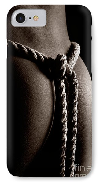 Rope Around Woman's Waist Phone Case by Oleksiy Maksymenko