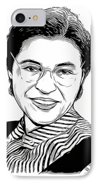 Rosa Parks IPhone Case by Greg Joens