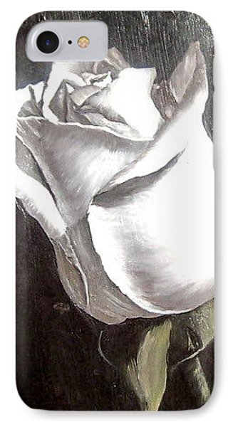 IPhone Case featuring the painting Rose 2 by Natalia Tejera