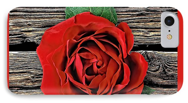 Rose Wood Collection IPhone Case by Marvin Blaine