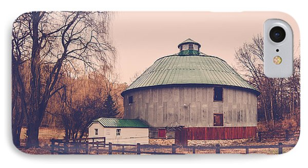 Round Barn IPhone Case by Dan Traun